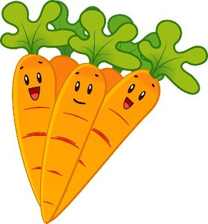 Carrots are great for wrinkles as a light therapy when eaten daily